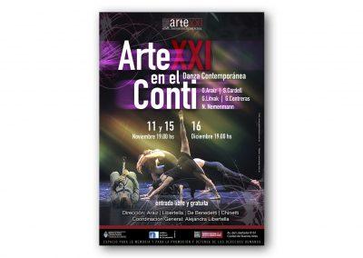 Arte XXI en el Conti