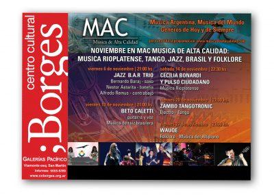 Ciclo de Conciertos MAC