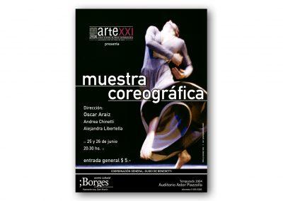 Muestra Arte XXI - 2004